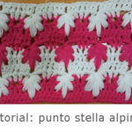 Punto stella alpina a uncinetto – Video Tutorial