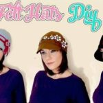 Cappello cloche in feltro – Tutorial