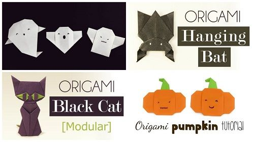 Origami a tema Halloween – Video Tutorial