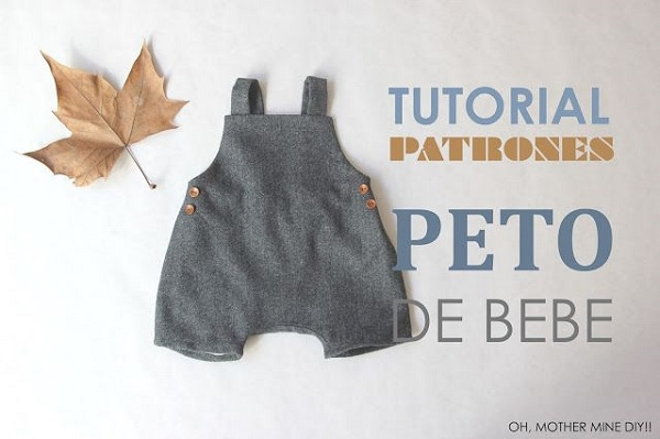 salopette bambino base video tutorial cartamodello gratis