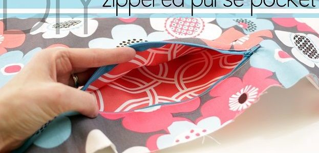 Come fare una tasca interna a una borsa – Tutorial