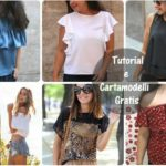 Cucito: bluse a manica corta – Cartamodelli gratis e Video Tutorial