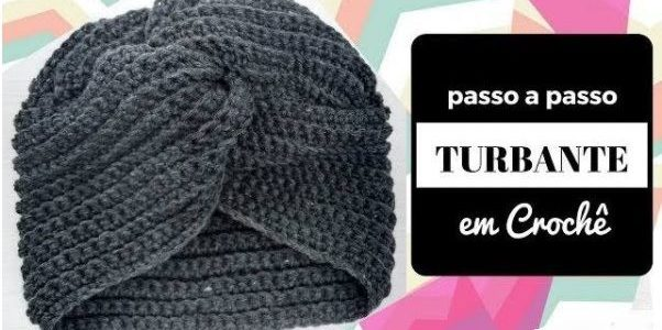 Cappello modello turbante a uncinetto: Schema e Video tutorial
