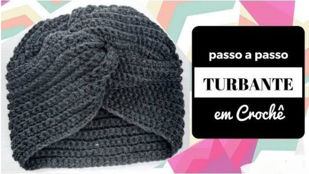 Cappello Modello Turbante A Uncinetto Schema E Video Tutorial