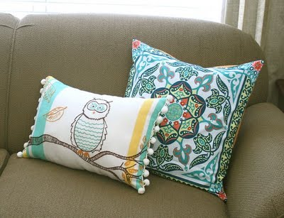 Sewing Pillows Tutorial
