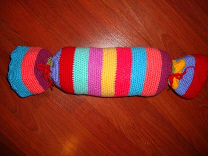 Cuscini A Forma Di Caramella.Come Fare Cuscino A Forma Di Caramella A Uncietto Crochet Tutorial