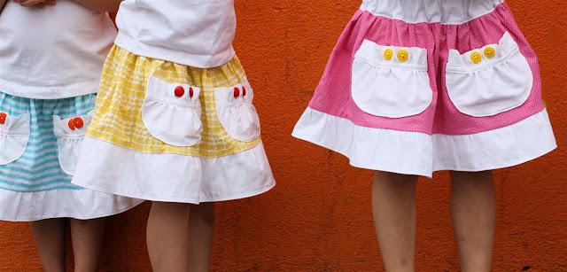 sito affidabile ca8bd 26a4a Come fare una gonnellina per bambina - Tutorial
