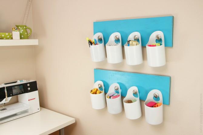 Fare portatutto da riciclo contenitori di plastica tutorial - Contenitori da bagno ...