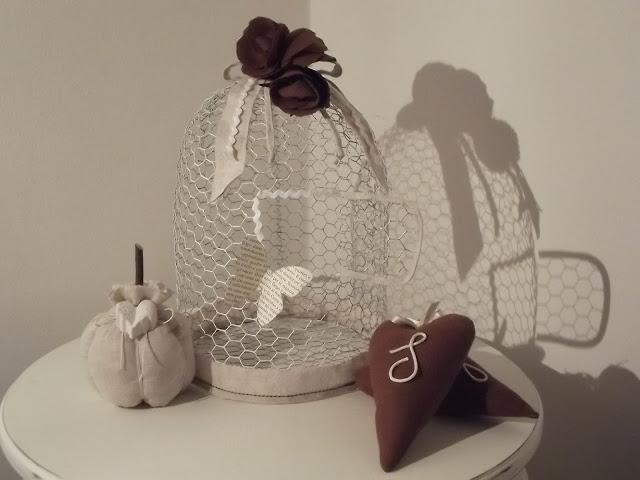 Come fare decorazione gabbietta per uccellini tutorial in italiano - Oggetti country per la casa ...