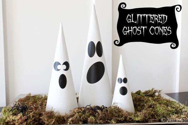... Halloween  i fantasmini fatti con coni di cartone – Tutorial · Idee per  ... 231127f31272