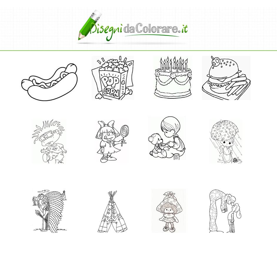 Disegni da colorare gratis for Foto per bambini da colorare