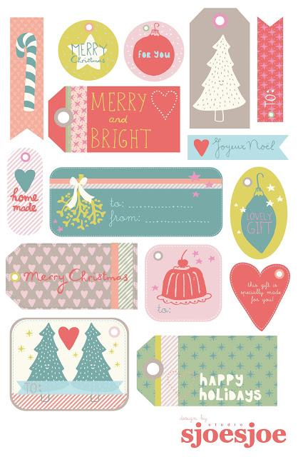 Etichette per regali da stampare for Sito regali gratis