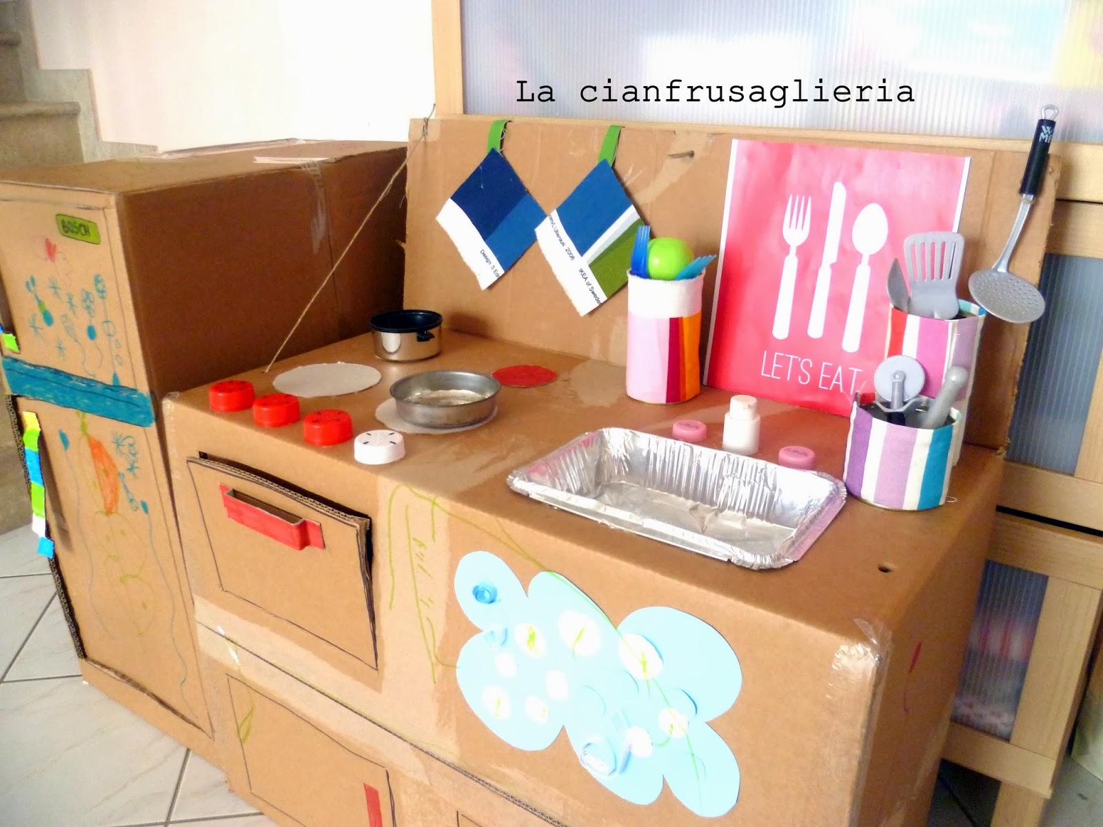 Come fare una cucina in cartone tutorial in italiano - Casa di cartone ...