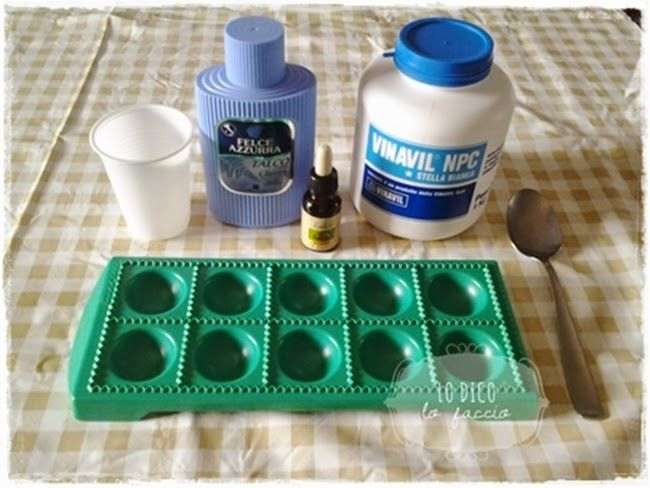 Come fare gessetti profumati con il borotalco tutorial for Si puo fare il bagno con la febbre