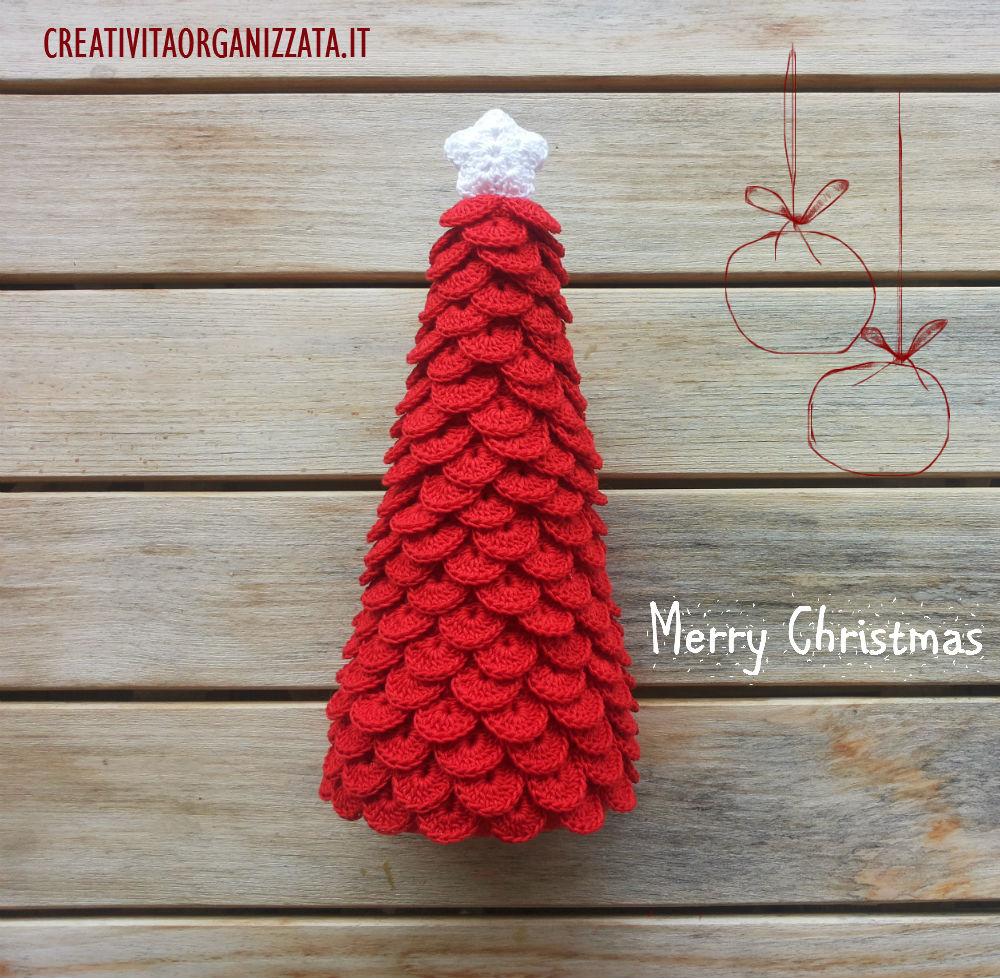 Albero Di Natale Alluncinetto Semplicissimo.Creativita Organizzata Cucito Creativo Tutorial Idee Creative