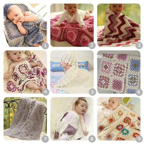 ... Schemi per coperte per bambini a uncinetto – In Italiano b29b1095d928