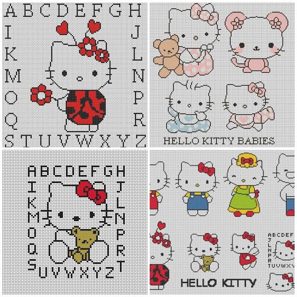 Schemi punto croce hello kitty gratis for Schemi a punto croce gratis