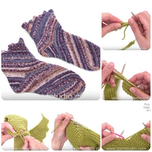 Tutorial su come fare calze con i ferri ne ho segnalati diversi (uno anche  fatto da me b19b0f070b57