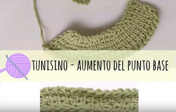 Uncinetto Tunisino Introduzione E Punto Base Tutorial